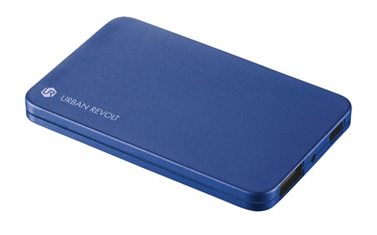 Immagine di Urban Revolt 20254 - PowerBank 1800T Ultra-thin Portable Charger - blue