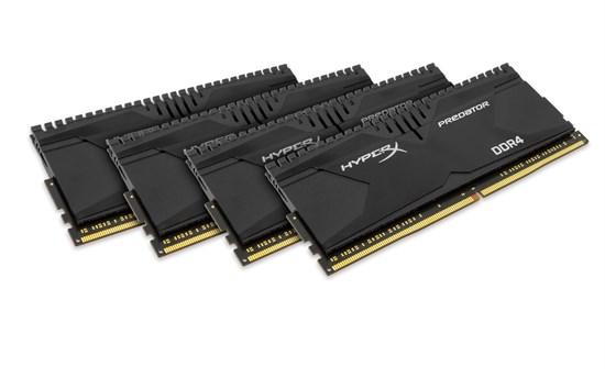Immagine di Kingston Hyperx Predator HX428C14PBK4/32 - DDR4 32GB (4x8GB)