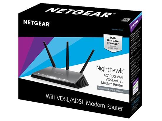 Immagine di Netgear D7000-100PES - Router Modem VDSL/ADSL Wireless AC1900 Nighthawk