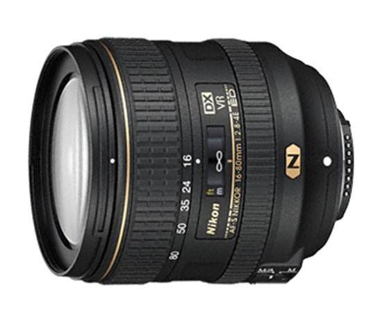 Immagine di Nikkor AF-S 16-80 mm f/2.8-4E ED VR DX