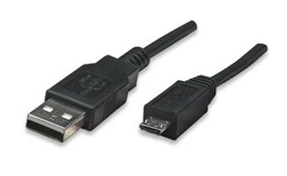 Immagine di Cavo USB 2.0 Hi-Speed per collegamento periferiche MicroUsb