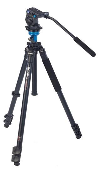 Immagine di Benro Single Legs Video A1573FS2 - Treppiede video con testa FS2