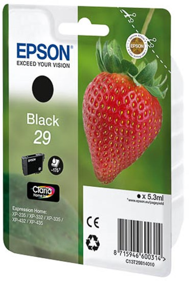 Immagine di Epson C13T29814010 - Cartuccia Fragola Nero