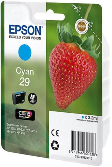 Immagine di Epson C13T29824010 - Cartuccia Fragola Ciano