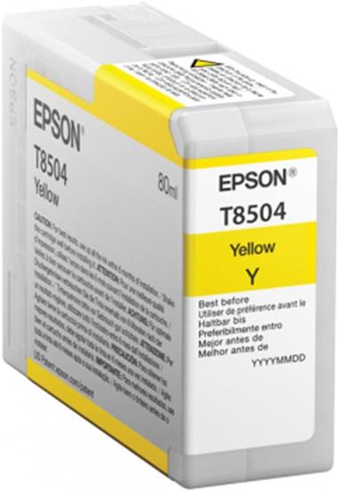 Immagine di Epson C13T850400 - Serbatoio Giallo