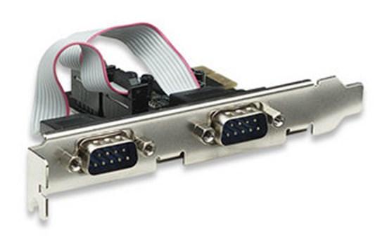 Immagine di Scheda Pci Express 2 porte seriali RS-232