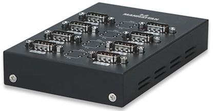 Immagine di Convertitore USB-Seriale 8 porte Manhattan [151054] IDATA USB-SER-8
