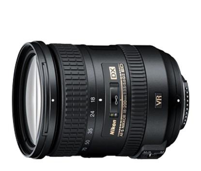 Immagine di Nikkor AF-S 18-200 mm f/3.5-5.6G DX ED VRII