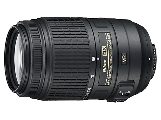 Immagine di Nikkor AF-S 55-300 mm f/4.5-5.6G DX ED VR