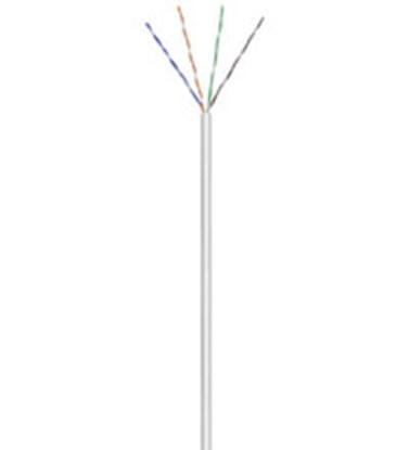 Immagine di Cavo U/UTP CCA Cat. 6 Flessibile - Matassa da 100 metri