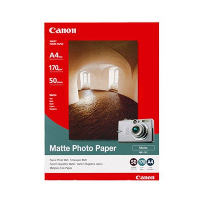 Immagine di Canon MP-101 Matte Photo Paper