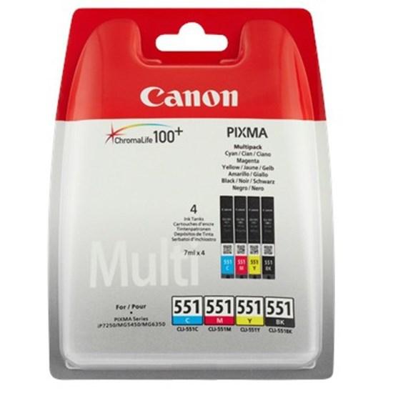 Immagine di Canon CLI-551 - Multipack C/M/Y/BK