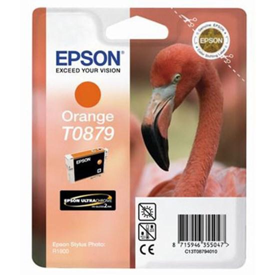 Immagine di Epson C13T08794020 - Cartuccia Fenicottero Arancio