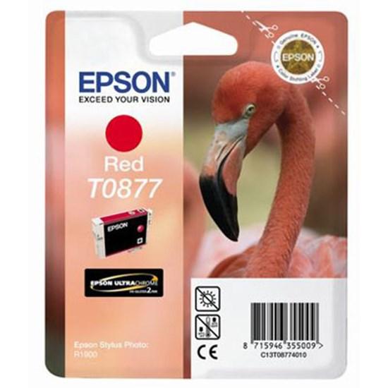 Immagine di Epson C13T08774020 - Cartuccia Fenicottero Rosso