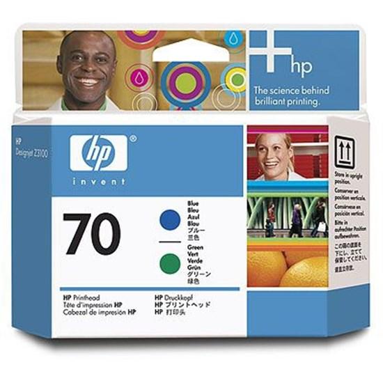 Immagine di HP C9408A - Testina blu/verde cod. 70