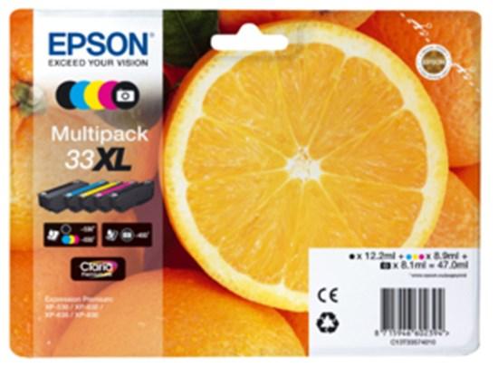 Immagine di Epson C13T33574010 - Multipack Arancia