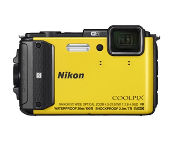 Immagine di Nikon Coolpix AW130 Gialla