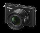 Immagine di Nikon 1 J3 Nera + Obiettivo 10-30 mm + Card 8 GB 400X