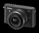 Immagine di Nikon 1 J2 Nera + Obiettivo 11-27,5 mm f/3.5-5.6 + Card 8 GB 400X