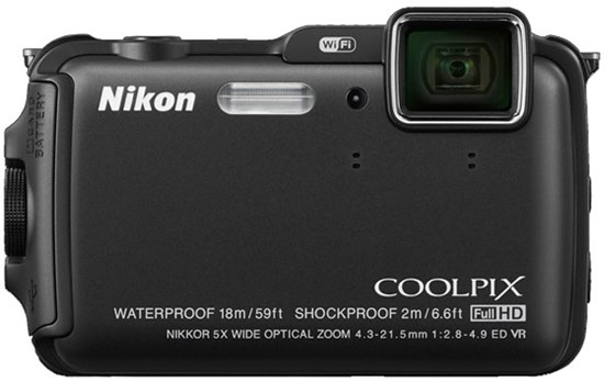 Immagine di Nikon Coolpix AW120 Black