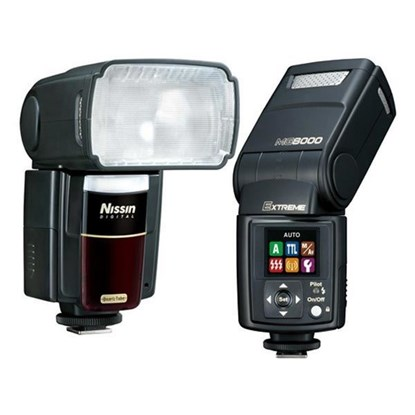 Immagine di Nissin MG-8000 Extreme per fotocamere Canon + Power Pack PS8
