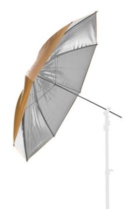 Immagine di Lastolite LL LU4534 - Ombrello Reversibile Argento / Oro - 100 cm