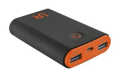 Immagine di Urban Revolt 20494 - Cinco PowerBank 7800 Portable Charger - black/orange