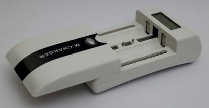 Immagine di Caricabatterie universale 3in1 Auto/Rete/Usb con LCD