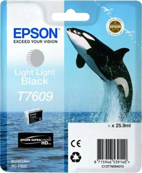 Immagine di Epson C13T76094010 - Cartuccia Orca nero light light
