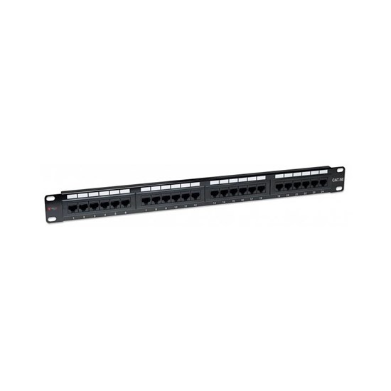 Immagine di Patch panel 24 porte RJ45 Cat. 5E