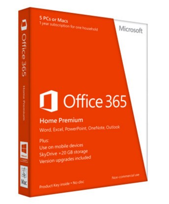 Immagine di Office 365 Home Premium