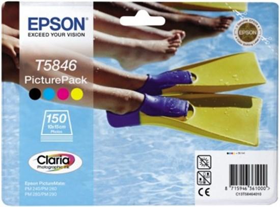 Immagine di Epson C13T58464010 - Cartuccia a 4 colori con 150 fogli di carta