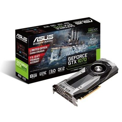 Immagine di ASUS GeForce GTX 1070 Founders Edition