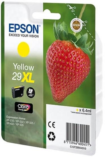 Immagine di Epson C13T29944010 - Cartuccia fragola giallo XL