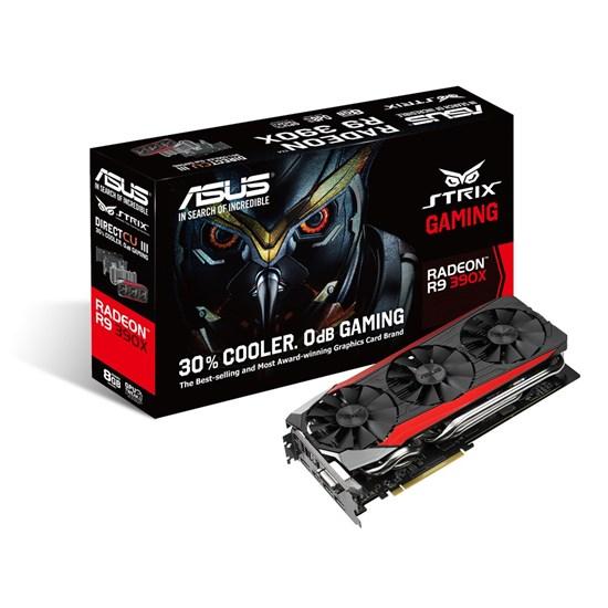 Immagine di Asus Radeon R9 390 Strix