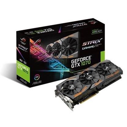 Immagine di Asus GeForce GTX1070 8GB Strix 8G