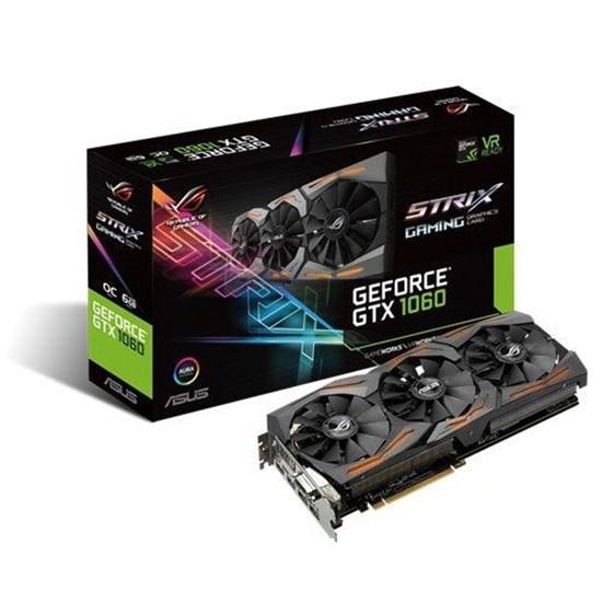 Immagine di Asus GeForce GTX1060 6GB Strix 6G