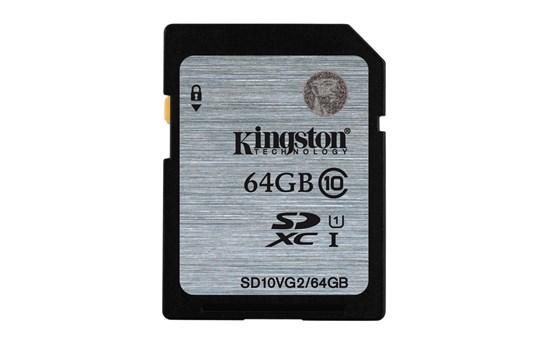 Immagine di Kingston SDHC Classe 10 - 64 GB