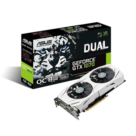 Immagine di Asus GeForce GTX1070 8GB Dual