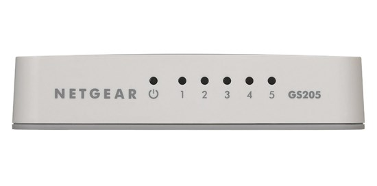 Immagine di Netgear GS205-100PES - Switch 5 porte Gigabit