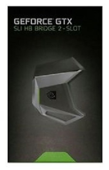 Immagine di Nvidia GeForce GTX Sli HB Bridge 2 slot