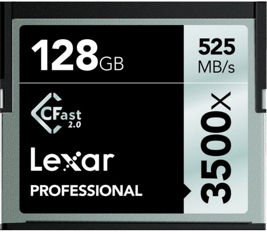 Immagine di Lexar CFast 128 GB 3500x -  LC128CRBEU3500 - 932464