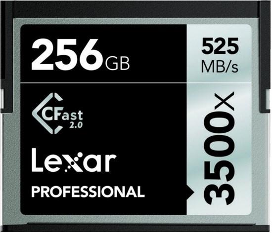 Immagine di Lexar CFast 256 GB 3500x -  LC256CRBEU3500 - 932465