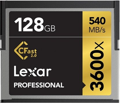 Immagine di Lexar CFast 128 GB 3600x -  LC128CRBEU3600 - 932452