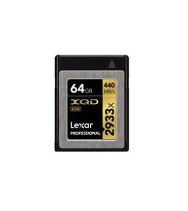 Immagine di Lexar XQD Card  64 GB 2933X -  LXQD64GCRBEU2933 - 932459