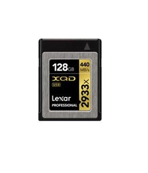 Immagine di Lexar XQD Card 128 GB 2933X -  LXQD128CRBEU2933 - 932460
