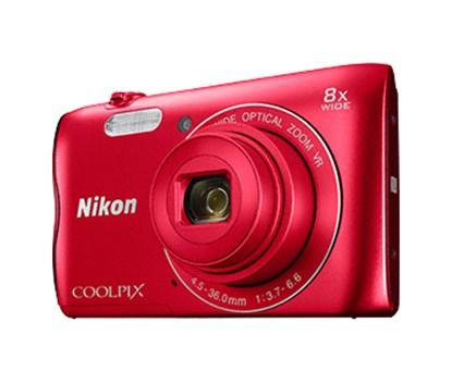 Immagine di Nikon Coolpix A300 Rossa