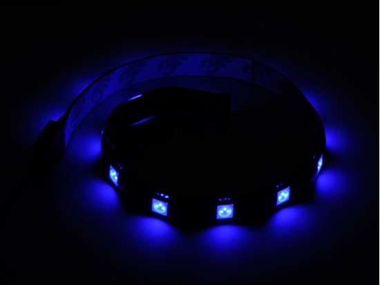 Immagine di Silverstone SST-LS01A LED Light Strip colore blu