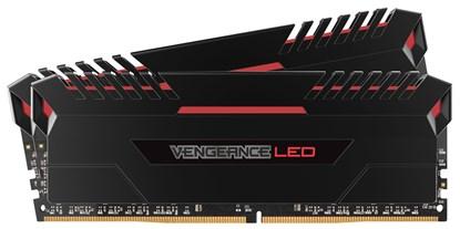 Immagine di Corsair Vengeance LED Rosso CMU16GX4M2C3000C15R - DDR4 16GB (2x8GB)