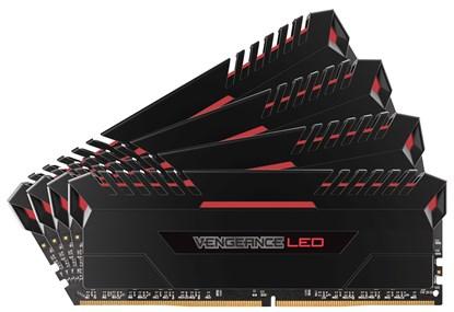 Immagine di Corsair Vengeance LED Rosso CMU32GX4M4C3000C15R - DDR4 32GB (4x8GB)